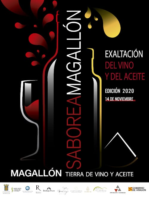 Cartel Saborea Magallon 2020
